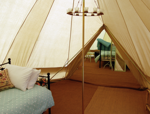 Glamping in the Heart