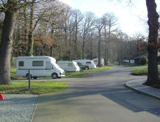 Abbey Wood Caravan and Motorhome Club Site (CAMC)
