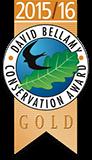 David Bellamy Conservation Gold