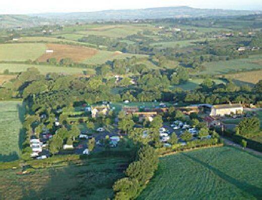 Bingham Grange Caravan and Motorhome Club Site.