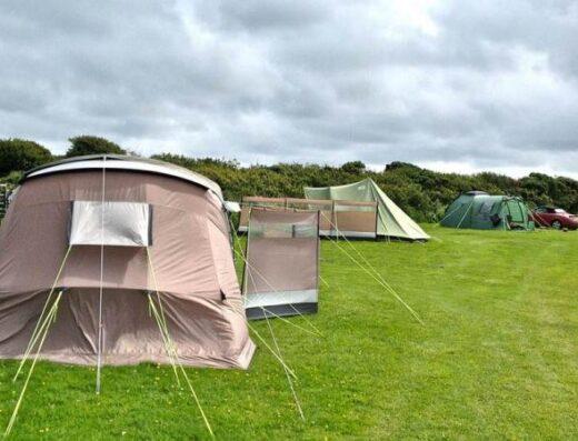 Lower Penderleath Farm Campsite near St.Ives