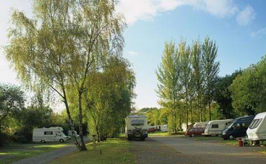 Moorhampton Caravan Club Site