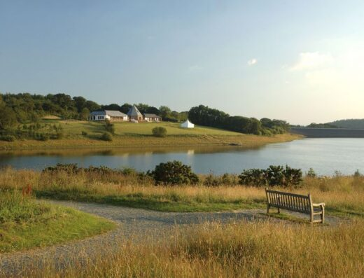 Roadford Lake campsite (SW Lakes Trust)