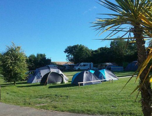 tents -touring Pensagillas Park
