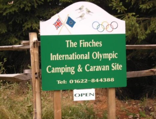 The Finches International Olympic Camping & Caravan Site