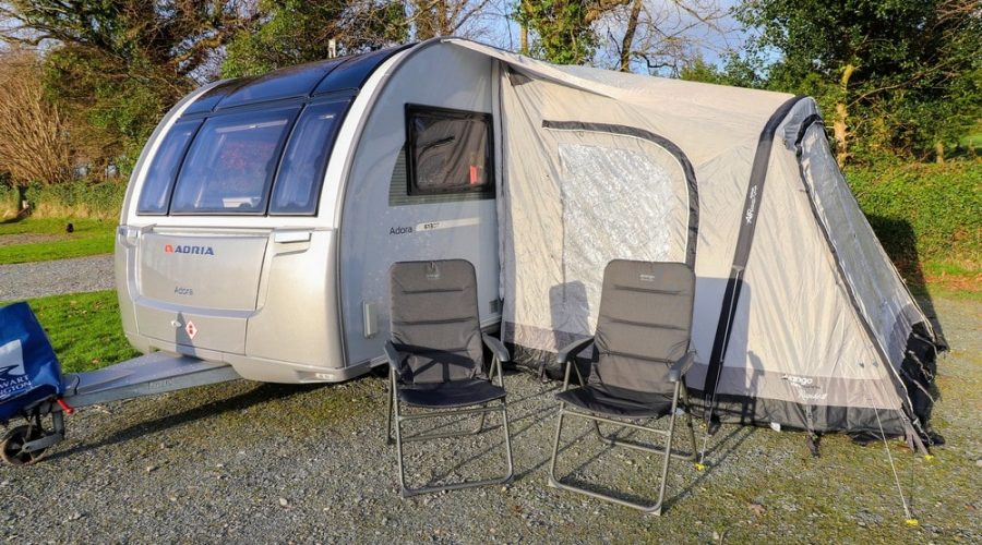 Review of the Rapide III 250 Vango Awning